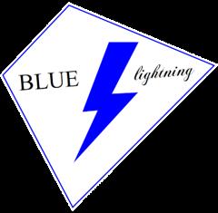 Logo blue lightning